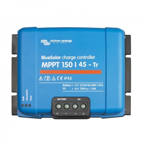 Ρυθμιστής Φόρτισης VICTRON 45A 12/24/48V MPPT (BlueSolar 150/45-MC4)