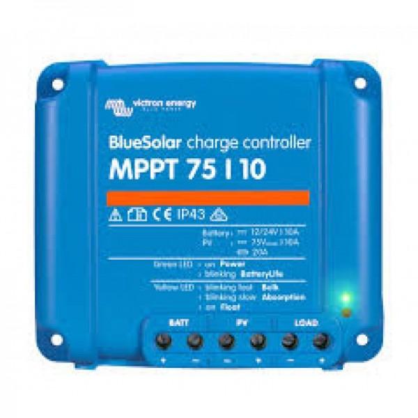 Ρυθμιστής Φόρτισης VICTRON 10A 12/24V MPPT (BlueSolar 75/10)