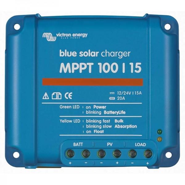 Ρυθμιστής Φόρτισης VICTRON 15A 12/24V MPPT (BlueSolar 100/15)
