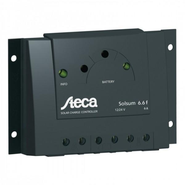 Ρυθμιστής Φόρτισης PWM STECA 6A 12/24V (Solsum 6.6F)