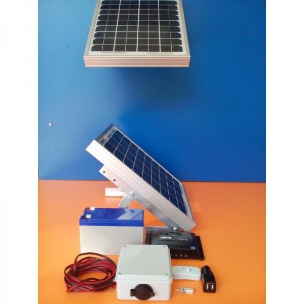 KIT PV PW29/1_L12/1 (για φωτισμό+φόρτιση χειμώνα-καλοκαίρι) - V.6 (Πλήρης Έκδοση)