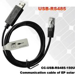 CC-USB-RS485-150U ΚΑΛΩΔΙΟ ΕΠΙΚΟΙΝΩΝΙΑΣ ΡΥΘΜΙΣΤΩΝ ΦΟΡΤΙΣΗΣ EPSOLAR ΜΕ PC