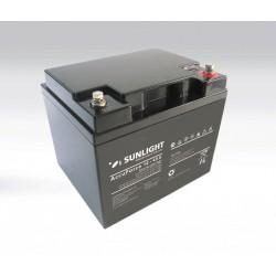 Μπαταρία AGM SUNLIGHT Accuforce Solar 12-45S (12V, 45Ah/C100, 42Ah/C20)