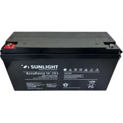 Μπαταρία AGM SUNLIGHT Accuforce Solar 12-75S (12V, 72.9Ah/C100, 65Ah/C10)