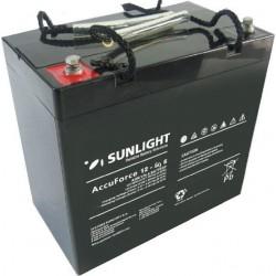 Μπαταρία AGM SUNLIGHT Accuforce Solar 12-60S (12V, 61Ah/C100, 54.5Ah/C10)