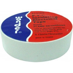 ΤΑΙΝΙΑ ΜΟΝΩΤΙΚΗ PVC 0.13X19X20Y K1ZA0 ΛΕΥΚΗ WND