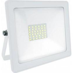 ΠΡΟΒΟΛΕΑΣ LED 20W 220-240VAC (DL) 1600LM ΛΕΥΚΟΣ QY-2502 QNG