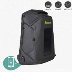 Ηλιακό Σακίδιο/Τσάντα Πλάτης Click2Save Με Ενσωματωμένο Φωτοβολταικό Πάνελ, Θύρα USB και Αντικλεπτική Προστασία