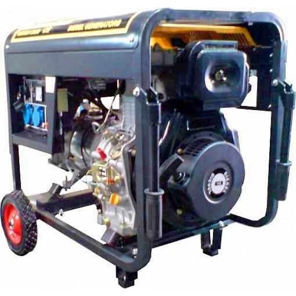 Η/Ζ Πετρελαίου GENIMA 6500D 6.5KVA 3000RPM Ανοιχτού Τύπου