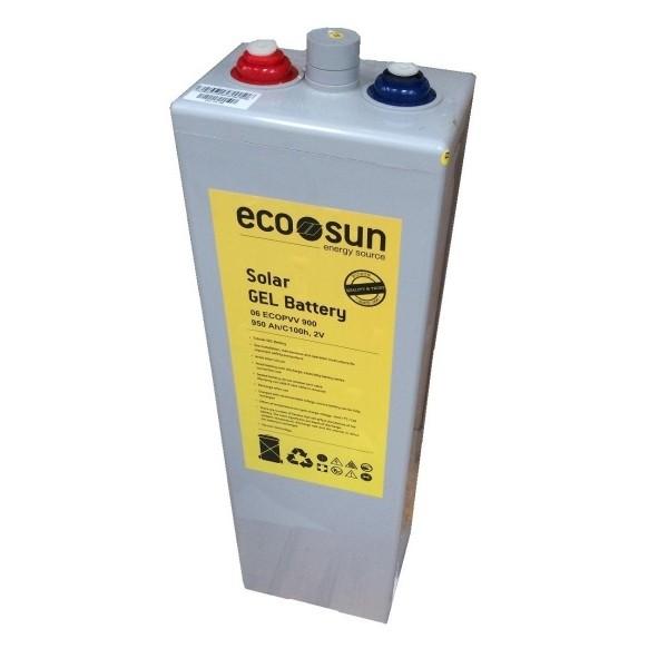 Μπαταρία GEL ECOSUN 05 ECOPVV 350 (2V, 379Ah/C100, 327Ah/C20)