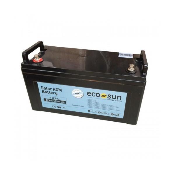 Μπαταρία AGM ECOSUN ECOAGM A-90-12 (12V, 90Ah/C100, 81Ah/C20)