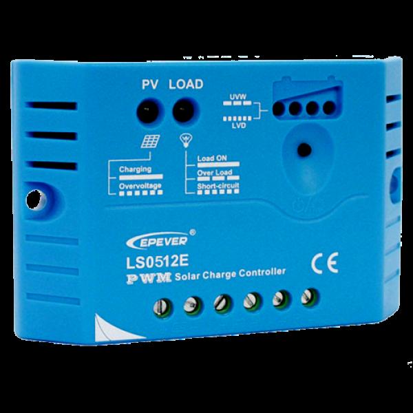 Ρυθμιστής Φόρτισης PWM EPSOLAR 5A 12V (LS0512E)