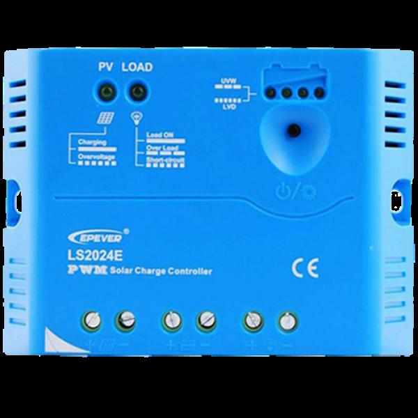 Ρυθμιστής Φόρτισης PWM EPSOLAR 20A 12/24V (LS2024E)