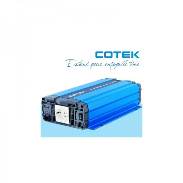 Inverter Καθαρού Ημιτόνου COTEK 1.000VA 12V (SP-1000-212)