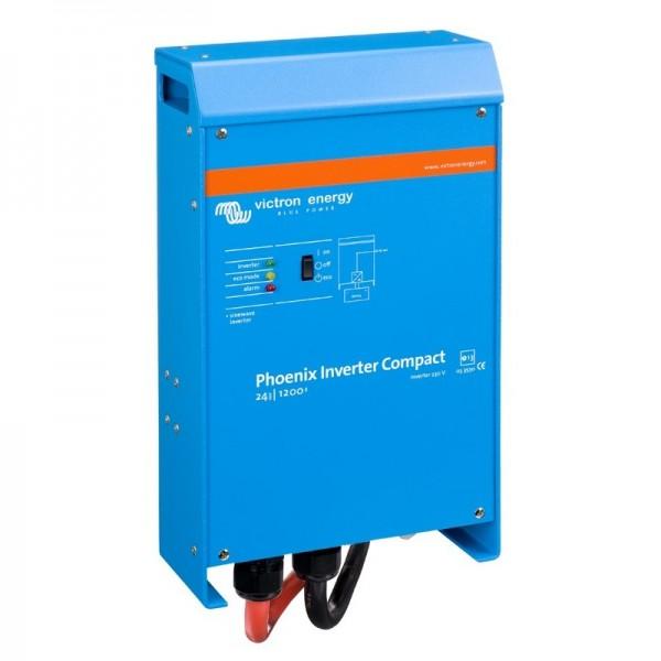 Inverter Καθαρού Ημιτόνου VICTRON 1.200VA 24V Compact (Phoenix C 24/1200)