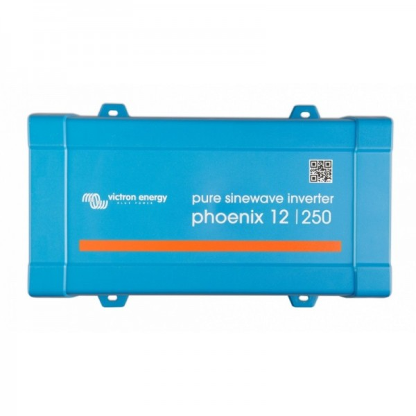 Inverter Καθαρού Ημιτόνου VICTRON 250VA 12V (Phoenix 12/250 VE.Direct Schuko)