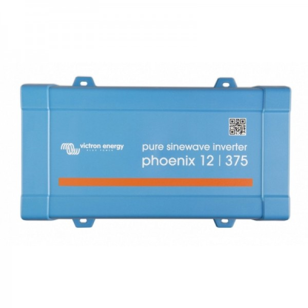 Inverter Καθαρού Ημιτόνου VICTRON 375VA 12V (Phoenix 12/375 VE.Direct Schuko)