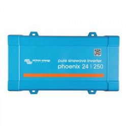 Inverter Καθαρού Ημιτόνου VICTRON 250VA 24V (Phoenix 24/250 VE.Direct Schuko)