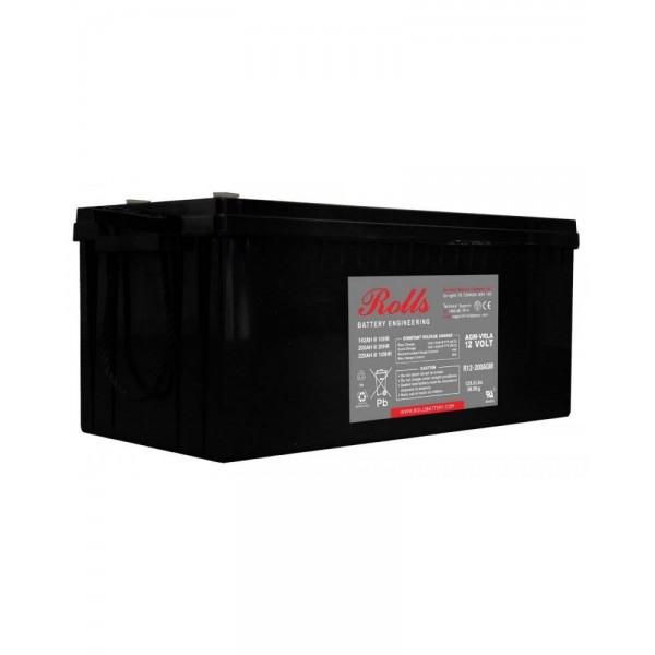 Μπαταρία AGM ROLLS R12-200 (12V, 200Ah/C20)
