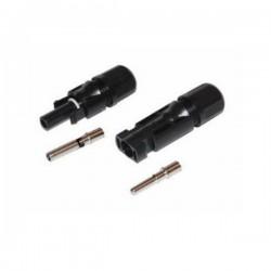 Ακροδέκτες (Σετ) Αρσενικός/Θηλυκός Τύπου MC4 για Καλώδιο 4-6mm
