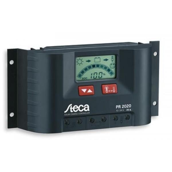 Ρυθμιστής Φόρτισης PWM STECA 30A 12/24V με Οθόνη (Solarix PR 3030)