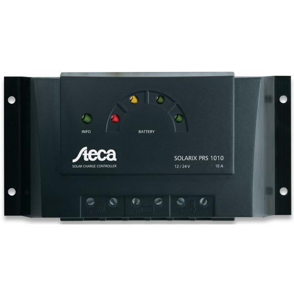 Ρυθμιστής Φόρτισης STECA 10A 12/24V PWM (Solarix PRS 1010)