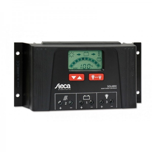Ρυθμιστής Φόρτισης STECA 25A 12/24V PWM (Solarix 2525)