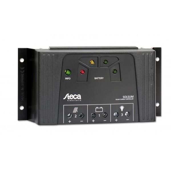 Ρυθμιστής Φόρτισης STECA 25A 12/24V PWM (Solsum 2525)