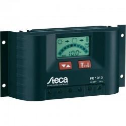 Ρυθμιστής Φόρτισης PWM STECA 10A 12/24V με Οθόνη (Solarix PR 1010)