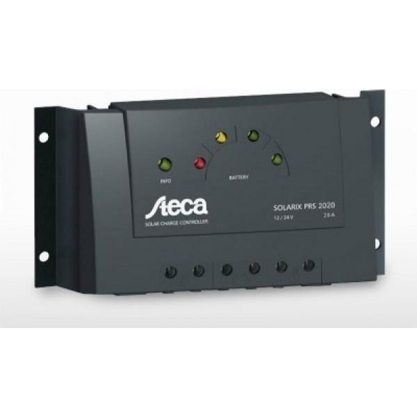 Ρυθμιστής Φόρτισης STECA 20A 12/24V PWM (Solarix PRS 2020)