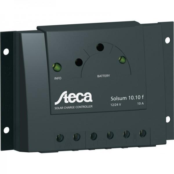 Ρυθμιστής Φόρτισης STECA 10A 12/24V PWM (Solsum 10.10F)