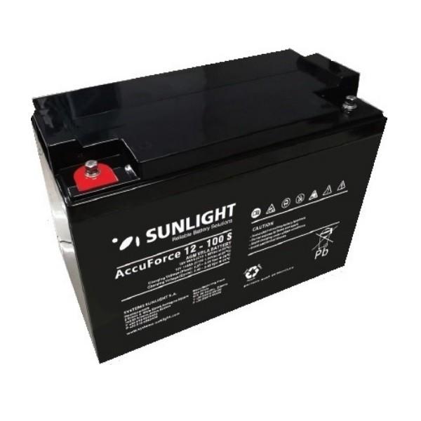 Μπαταρία AGM SUNLIGHT Accuforce Solar 12-100S (12V, 99Ah/C10)