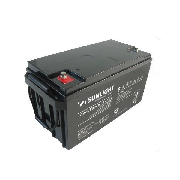 Μπαταρία AGM SUNLIGHT Accuforce Solar 12-65S (12V, 65Ah/C10)