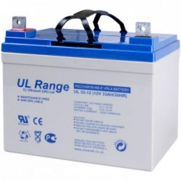 Μπαταρία ULTRACELL UL33-12 (12V 33Ah-C20)