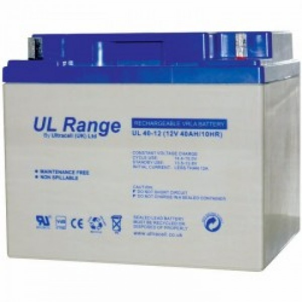 Μπαταρία ULTRACELL UL40-12 (12V 40Ah-C20)