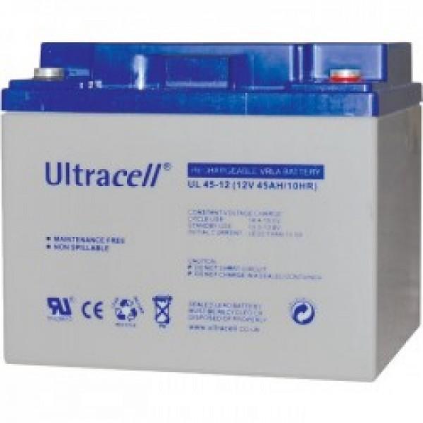 Μπαταρία ULTRACELL UL45-12 (12V 45Ah-C10, 46.8Ah-C20)