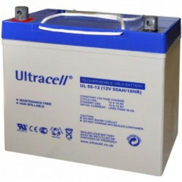 Μπαταρία ULTRACELL UL55-12 (12V 55Ah-C10, 57.2Ah-C20)