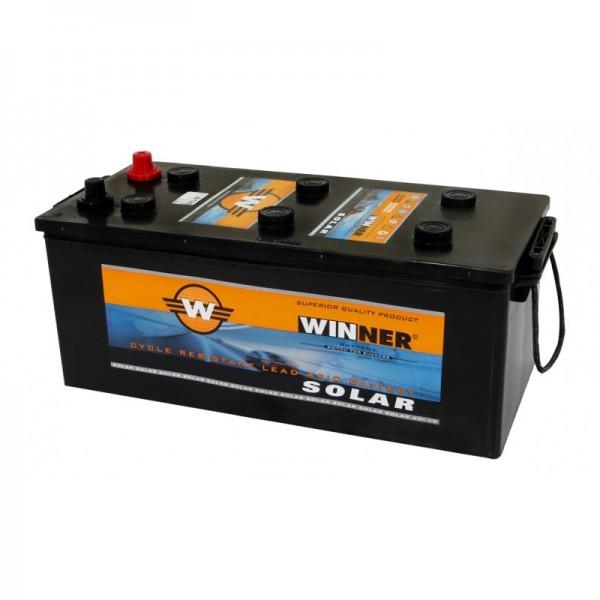 Μπαταρία WINNER Solar W75A (Ανοιχτού τύπου με υγρά, 12V 130Ah-C100, 95Ah-C20)