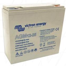 Μπαταρία AGM VICTRON Super Cycle (M5) 12V 25Ah/C20